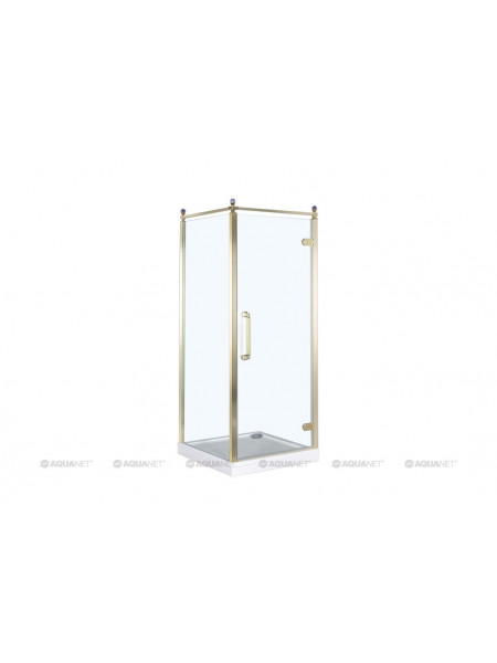 Душевой уголок Акванет/Aquanet Beta Cube Classic NBB1221 100x100 R 184917 (прозрачное стекло, правый)
