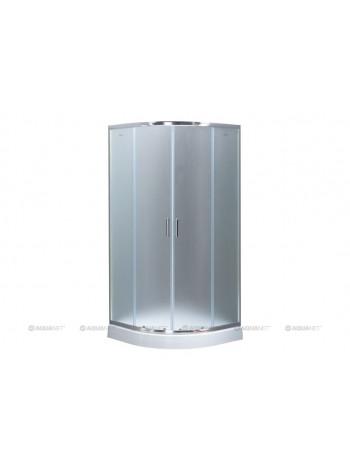Душевой уголок Акванет/Aquanet SE-900Q 90x90 00209404 (узорчатое стекло)