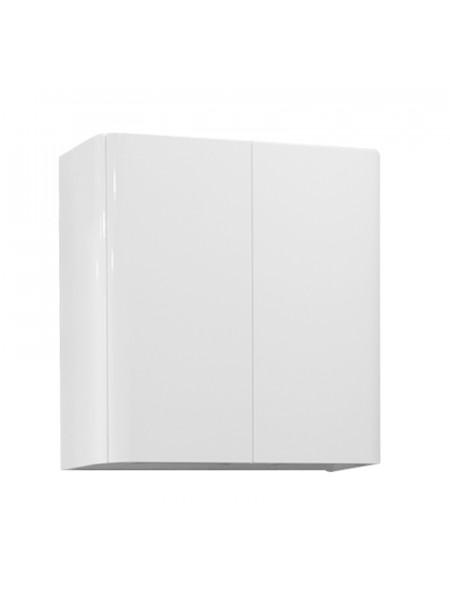 Шкаф подвесной Акватон Шерилл 56 см. 1A206603SH010 (белый, подвесной, двухстворчатый)