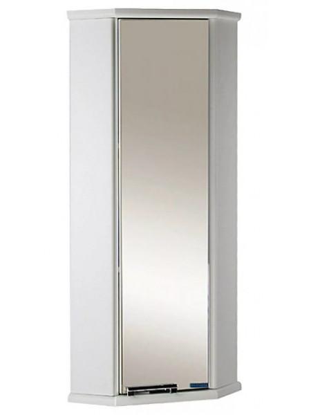 Шкаф подвесной угловой Акватон Призма М 28х28 см. 1A004203PZ01R (белый, правый, одностворчатый)
