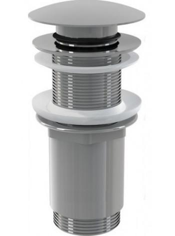 Донный клапан AlcaPlast A395 (хром глянец, click-clack)