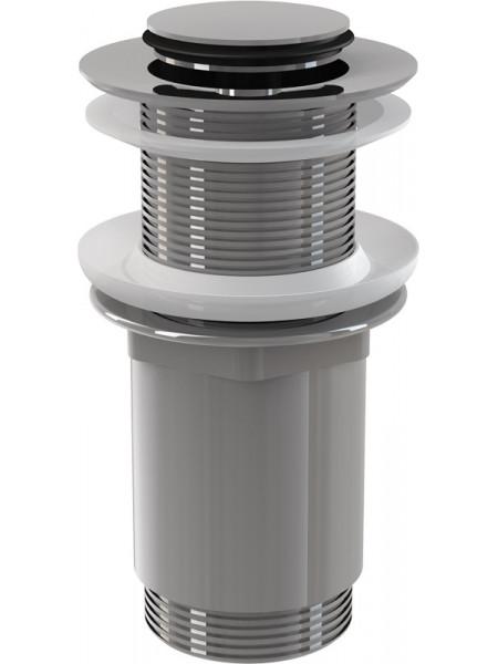 Донный клапан AlcaPlast A394 (хром глянец, click-clack)