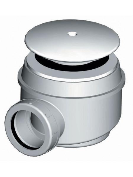 Сифон для душевого поддона AlcaPlast A47B-60 Ø60 мм (внешние части пластик, белый)