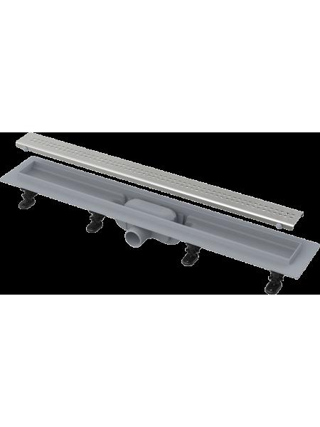 Душевой лоток AlcaPlast APZ9-850M 85 см. (нержавеющая сталь)