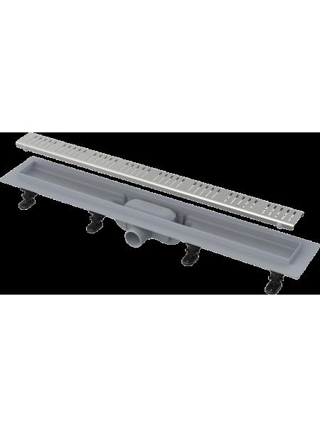 Душевой лоток AlcaPlast APZ10-650M 65 см. (нержавеющая сталь)