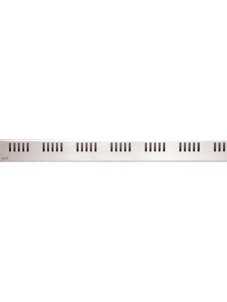 Дизайн решетка AlcaPlast Dream-300L 30 см. (нержавеющая сталь, глянцевая)