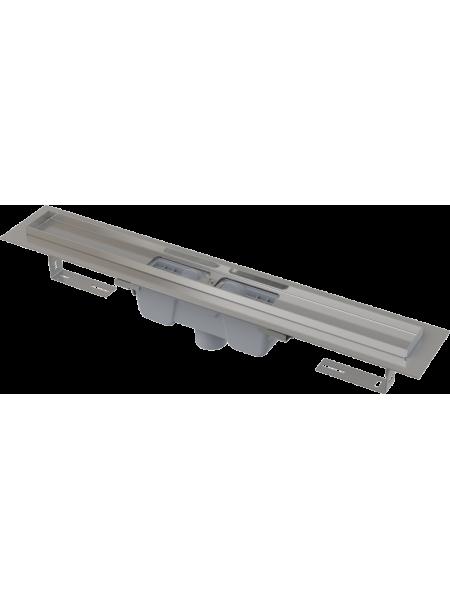 Душевой лоток AlcaPlast APZ1001-300 30 см. (вертикальный, с гидрозатвором и опорами, без решетки)