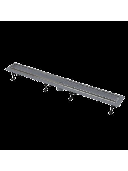 Душевой лоток AlcaPlast APZ2022-550 Optimal 55 см. (c опорами, без решетки и без сифона)