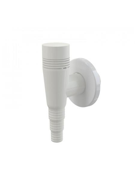 Сифон для стиральной машины AlcaPlast APS5 (наружного монтажа, белый, с разрывным клапаном)