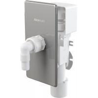 Сифон для стиральной машины AlcaPlast APS3P (скрытого монтажа, нержавеющая сталь с разрывным клапаном)