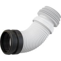 Раздвижной слив для унитаза AlcaPlast M9006 (белый)