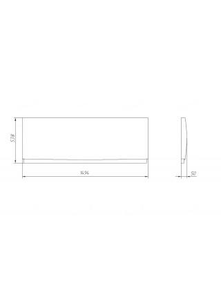 Фронтальная панель Alvaro Banos Panel 150 150 см.