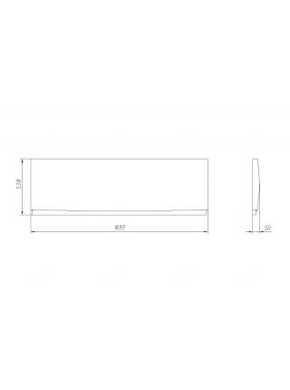 Фронтальная панель Alvaro Banos Panel 170 170 см.