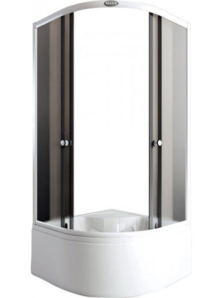 Душевой уголок Arcus AS-302-9 90x90 (матовое стекло, высокий поддон)