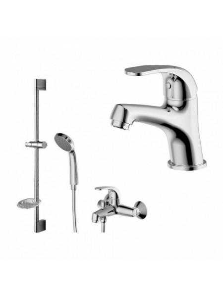 Комплект смесителей для ванной комнаты Bravat Fit F00315C