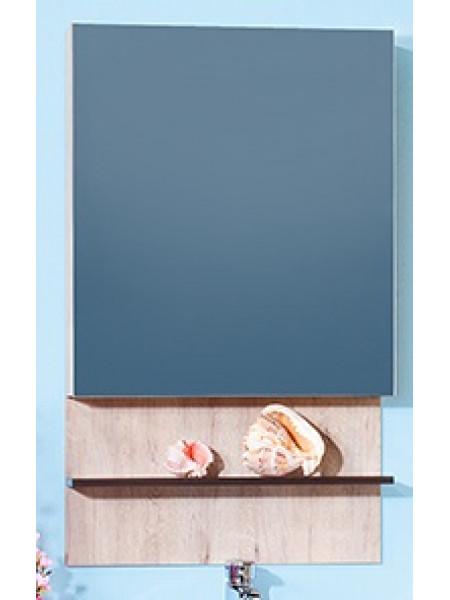 Зеркало-шкаф Бриклаер Карибы 60 60 см. (дуб кантри-венге)