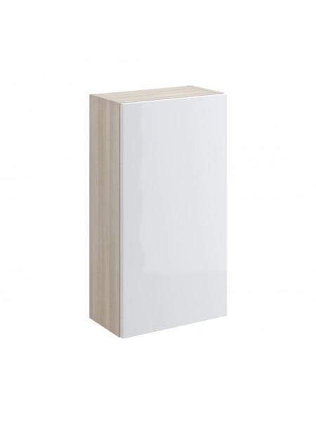 Шкаф Cersanit Smart 35 SW-SMA/Wh 35 см. (белый-ясень, подвесной)