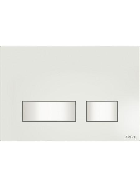Клавиша для инсталляции Cersanit Movi BU-MOV/Wh (белая, для инсталляции Cersanit Leon New и Cersanit Linc Pro)