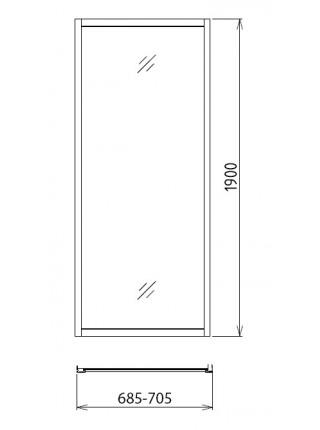 Боковая стенка Gemy A70