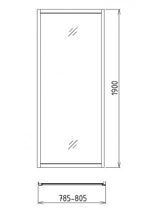Боковая стенка Gemy A80