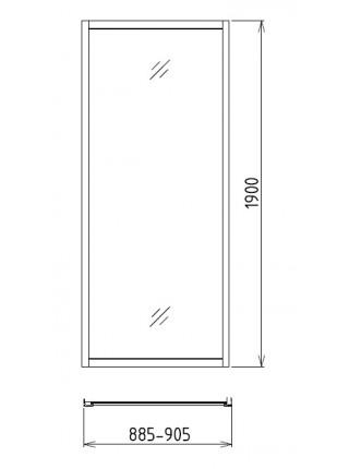 Боковая стенка Gemy A90