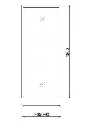 Боковая стенка Gemy A100