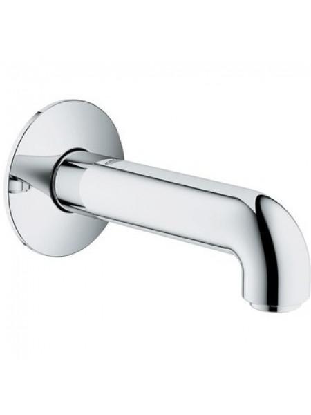 Настенный излив для ванны Grohe BauClassic 13258000 140 мм. (хром глянец)