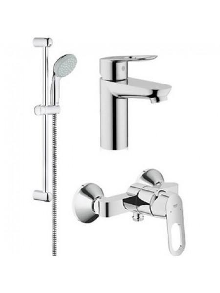 Комплект смесителей для ванной комнаты Grohe BauLoop 118111