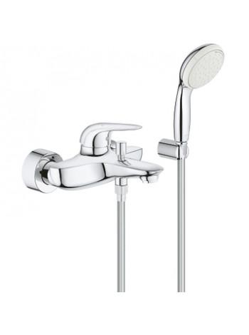 Смеситель для ванны Grohe Eurostyle New 2372930A (хром глянец, с душевым комплектом)