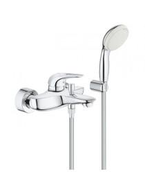 Смеситель для ванны Grohe Eurostyle 3359230A (хром глянец, с душевым комплектом)