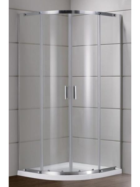 Душевой уголок Grossman Classic GR-0090 90х90 см. (прозрачное стекло, хром глянец)