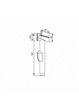 Гигиенический набор Iddis 0101F15I20 (хром глянец)