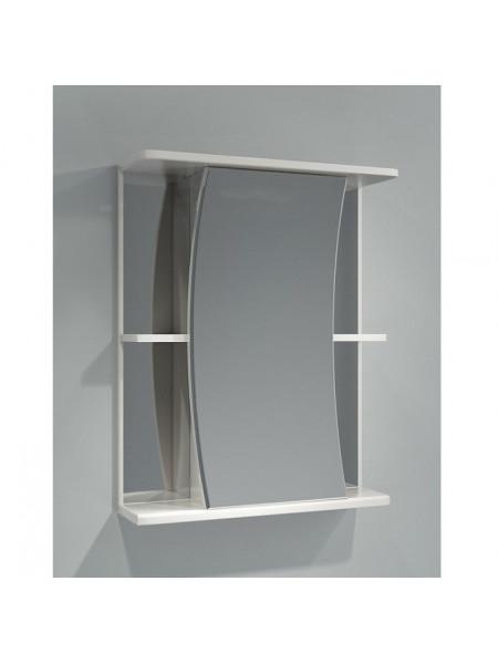 Зеркало-шкаф Какса-А Парус 55 55 см. 003163 (белое, без подсветки)