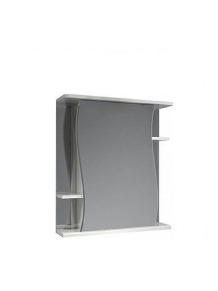 Зеркало-шкаф Какса-А Волна 55 55 см. 003162 (белое, без подсветки)