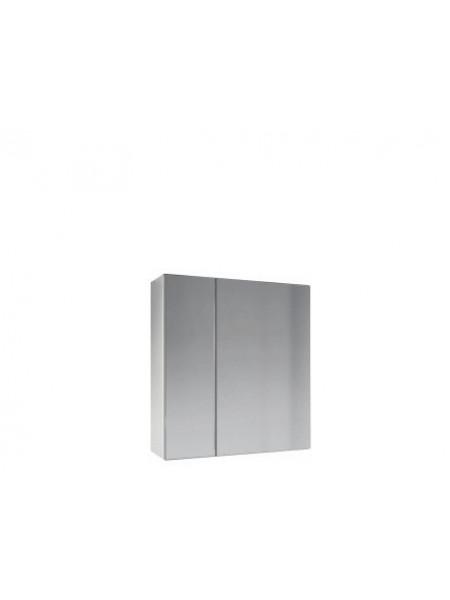 Зеркало-шкаф Какса-А Браво 65 65 см. 002795 (белое, без подсветки)
