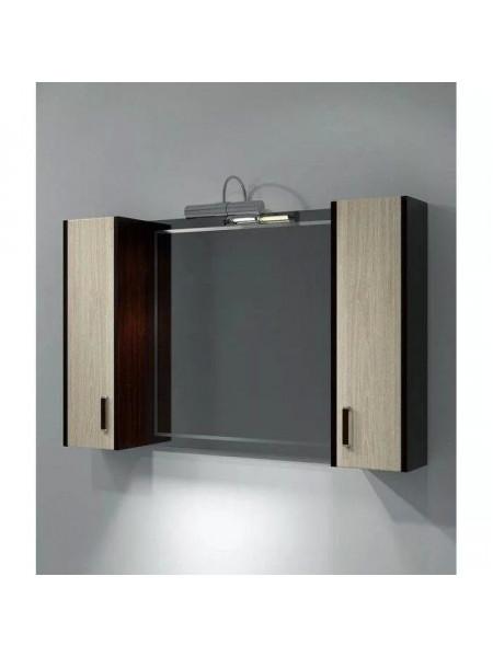Зеркало-шкаф Какса-А Карлос 105 105 см. 003697 (венге-дуб сантана)