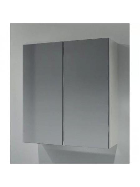 Зеркало-шкаф Какса-А Квадро 60 60 см. 003146 (белое)