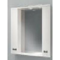 Зеркало-шкаф Какса-А Пикколо 80 80 см. 003806 (белое)