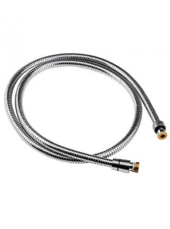 Душевой шланг Lemark LE8034S 1500-2000 мм. (хромированная сталь, растяжной)