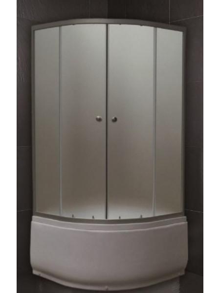 Душевой уголок Loranto CS-7046 100x100 (матовое стекло, высокий поддон)