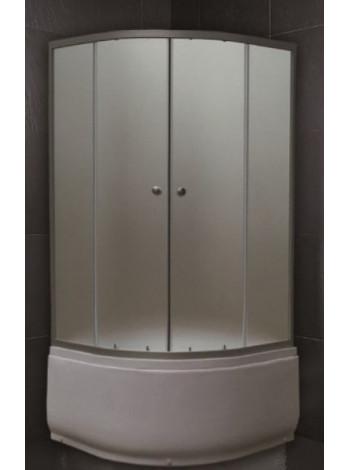 Душевой уголок Loranto CS-7046 80х80 (матовое стекло, высокий поддон)