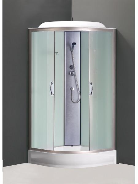 Душевой кабина Loranto CS-6691 F 90x90 (матовое стекло, низкий поддон)