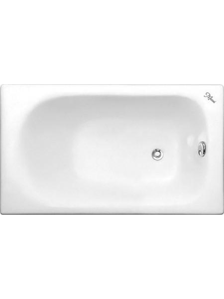 Чугунная ванна Maroni Orlando 445978 120x70 (белая, с ножками, без отверстий под ручки)