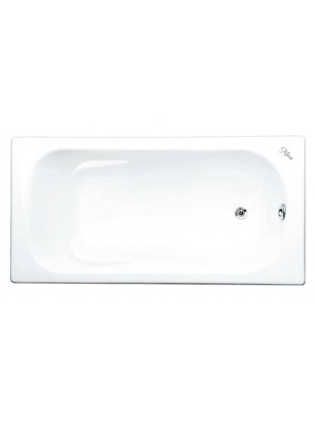Чугунная ванна Maroni Orlando 445975 170х70 (белая, с ножками, без отверстий под ручки)