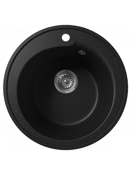 Кухонная мойка Merkana Модель 4 43х43 см. 34901 (чёрная)