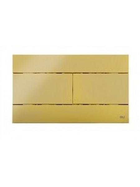 Смывная клавиша Oli Slim 154962 (золотая)