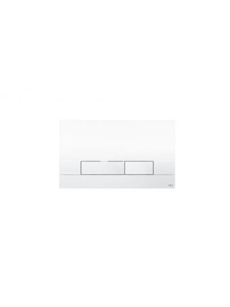 Смывная клавиша Oli Narrow 148300 (белая)