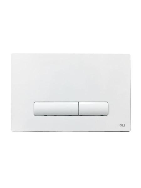 Смывная клавиша Oli Glam 139178 (белая)