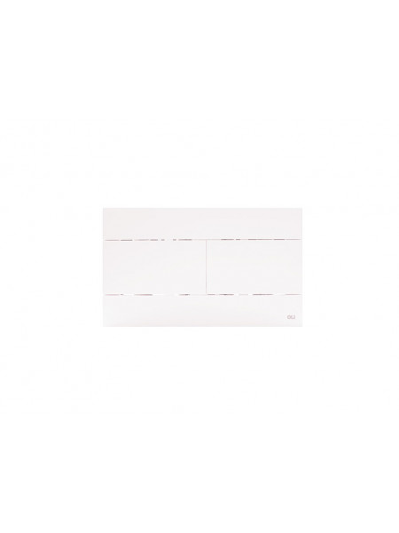 Смывная клавиша Oli Slim 659041 (белая)