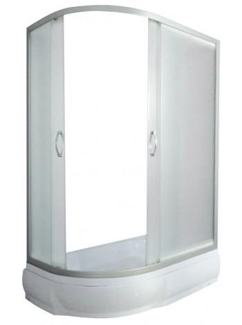 Душевой уголок River Don 120/80/26 MT R 120х80 (матовое стекло, низкий поддон, правый)